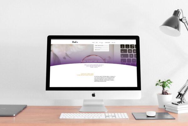 Bent-e - websiteontwerp